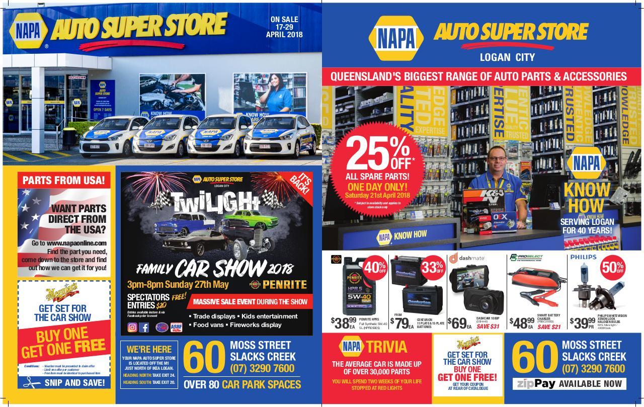 NAPA Auto Super Store Catalogue 8pp APRIL2018 - PDF Archive Napa Stereo Wiring Harness on
