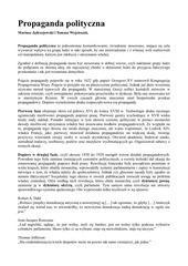 PDF Document propaganda polityczna