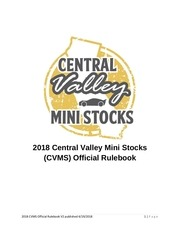 2018 central valley mini stocks rulebook v2