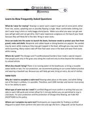 learn to row faqs