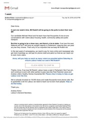 aw 1 week roskill email