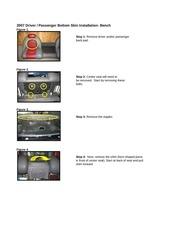 ranger seat skin removal