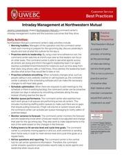 intraday management uwebc 2017