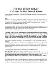 true book of the law