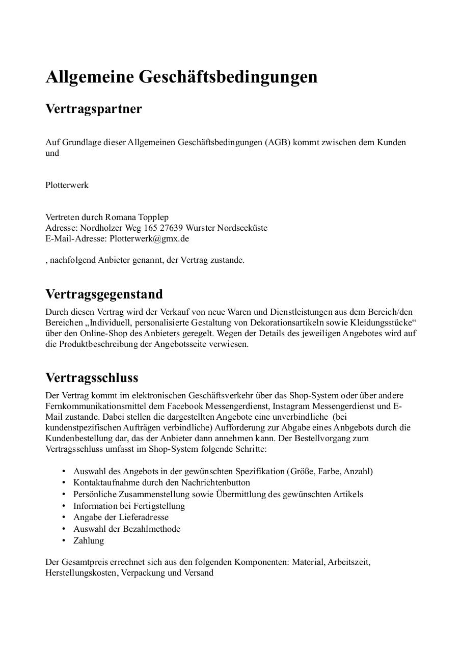 Document preview AGBsPlotterwerk.pdf - page 1/5