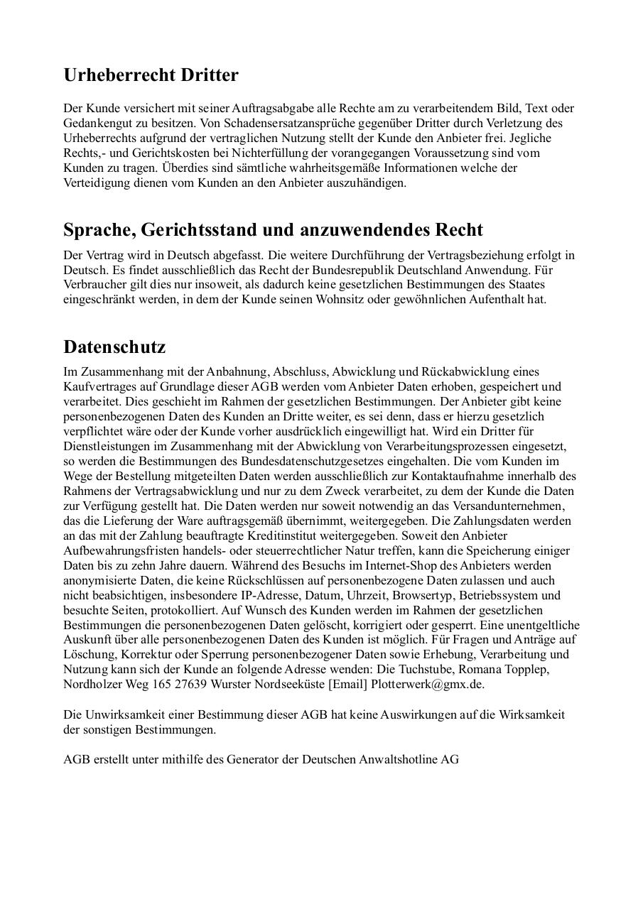 Document preview AGBsPlotterwerk.pdf - page 4/5