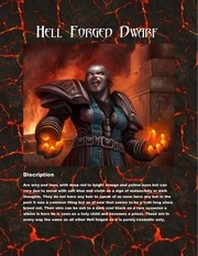 hell forged dwarf