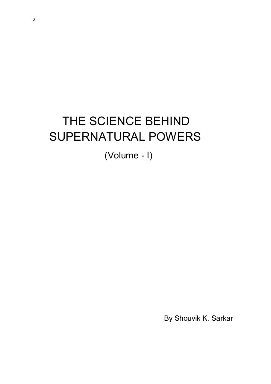 The Science Behind Supernatural Powers.pdf - page 2/154