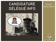 PDF Document candidature info