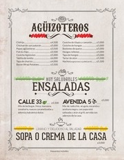 aguizotes gastro pub menu digital