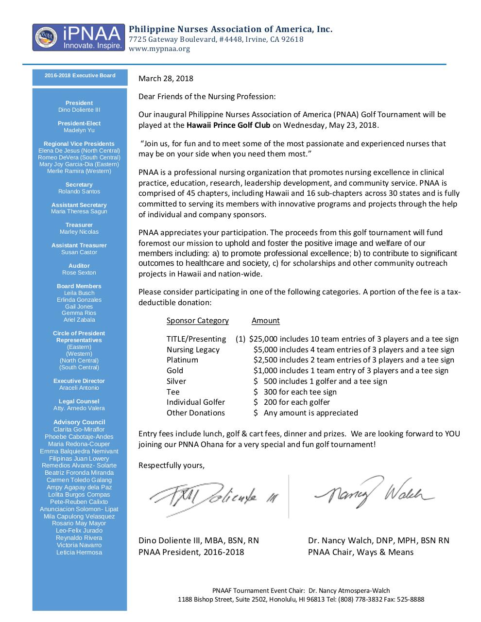 Document preview PNAA Golf.pdf - page 1/2