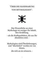 ber die handhabung von mythologien