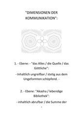 dimensionen der kommunikation