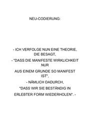 neu codierung