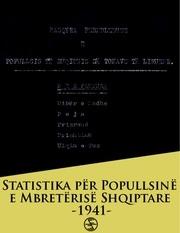 popullsia e shqiperise 1941