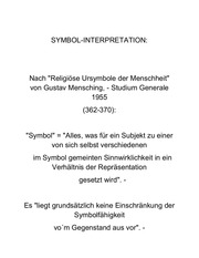 symbol interpretation