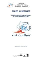 PDF Document prascahierexercicesentraineursdebutantsvolleyball