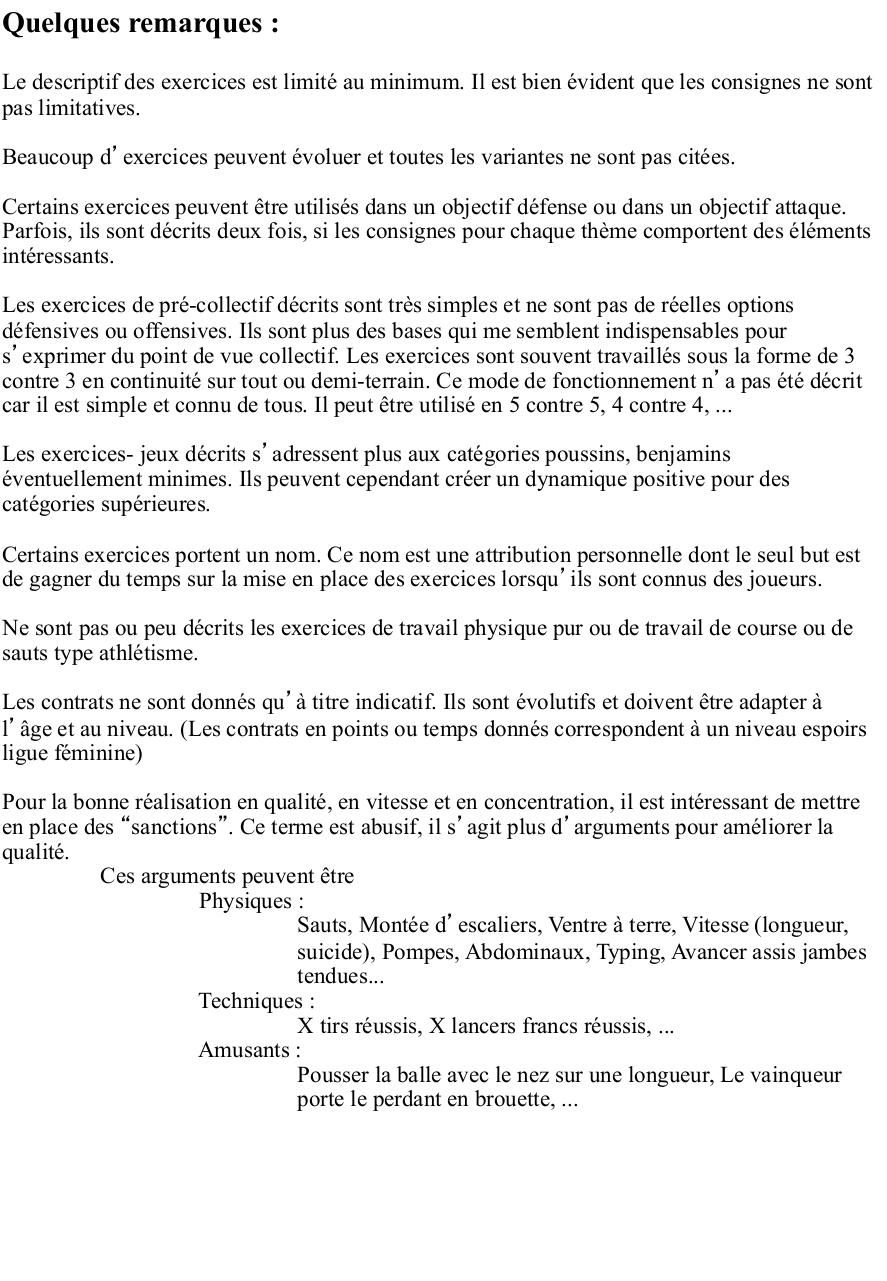 Repertoire d'exercices Trainings.BASKETBALL.pdf - page 2/79