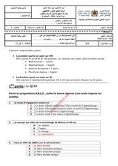 questions et reponses examen eps qualifiant 2014