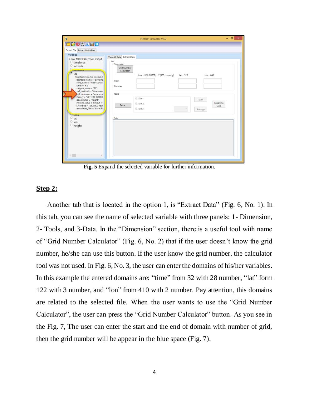 Help of Netcdf Extractor.pdf - page 4/11