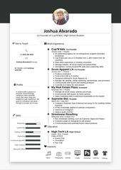 open resume