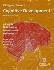 cognitive development newsletter winter 2018 final version
