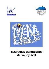 PDF Document les regles essensielles du volleyball