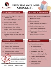 PDF Document showing checklist 1