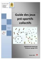 guide de jeux presportifs