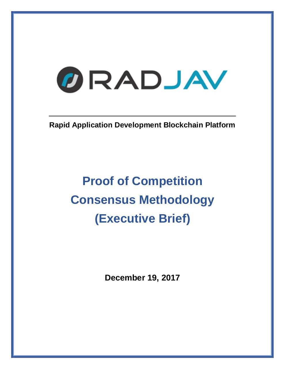 RadJav__Executive_Brief_on_Proof_of_Competition_Consensus_Methodology.pdf - page 1/6