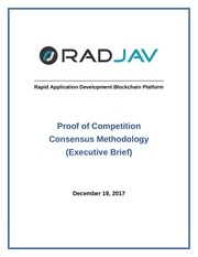 radjavexecutivebriefonproofofcompetitionconsensusmethodology