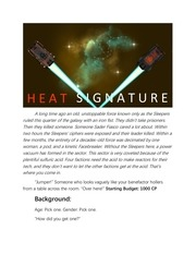 heat signature jumpchain 5th draft