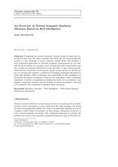 semantic similarity web intelligence