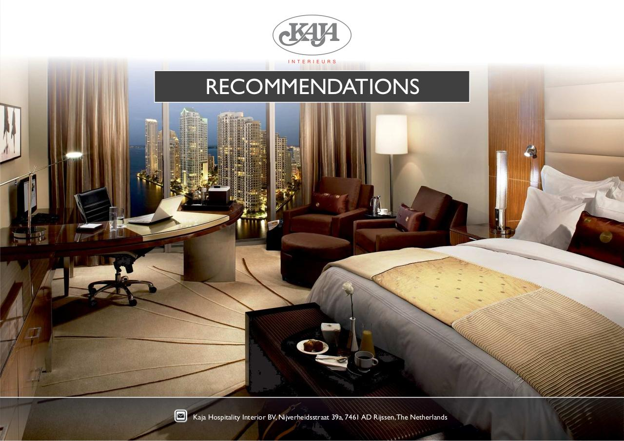 Faber RECOMMENDATIONS.cdr by ASUS-PC - KAJA - RECOMMENDATIONS pdf ...