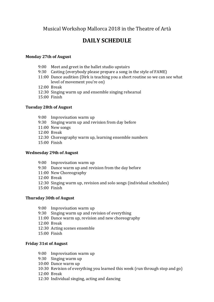 DAILY SCHEDULE Musical Workshop 2018.pdf - page 1/2