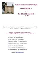 programme jolonc 2013