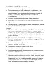 gewinnspiel teilnahmebedingungen pdf