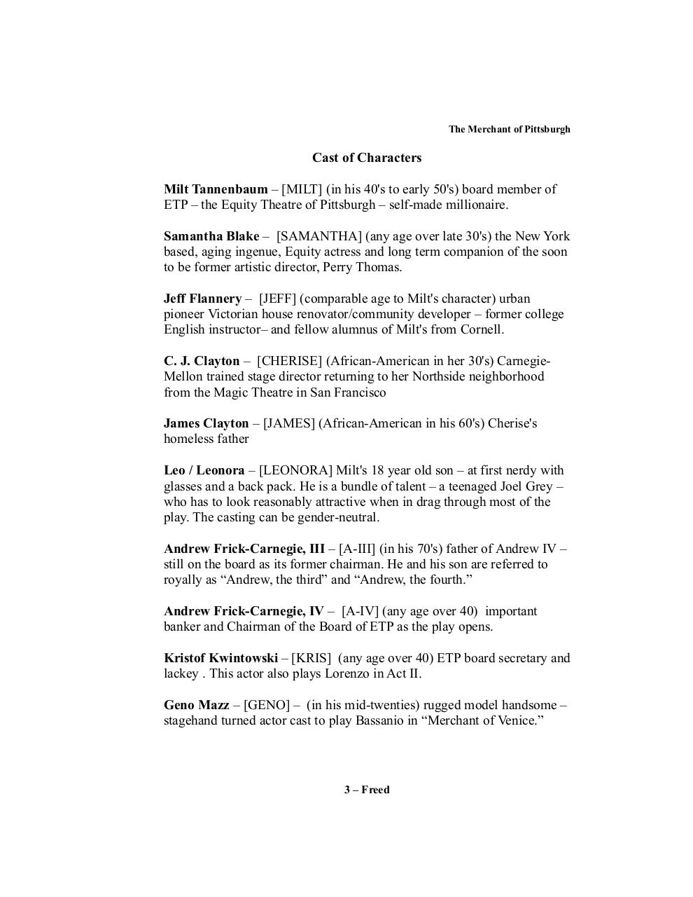 The Merchant of Pittsburgh -- A Comedy.Freed.06-04-2018.rev4.pdf - page 3/99