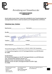 PDF Document kursanmeldung 1