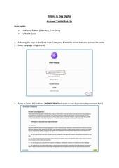 huawei tablet set up instructions v2