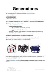 PDF Document generadores