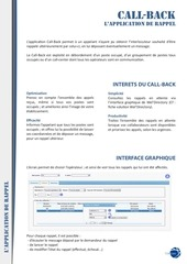 PDF Document fiche presentationcall back