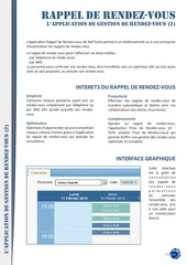 PDF Document fiche presentationrappel de rendez vous