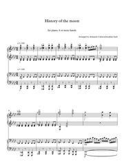 history of the moon partitura completa