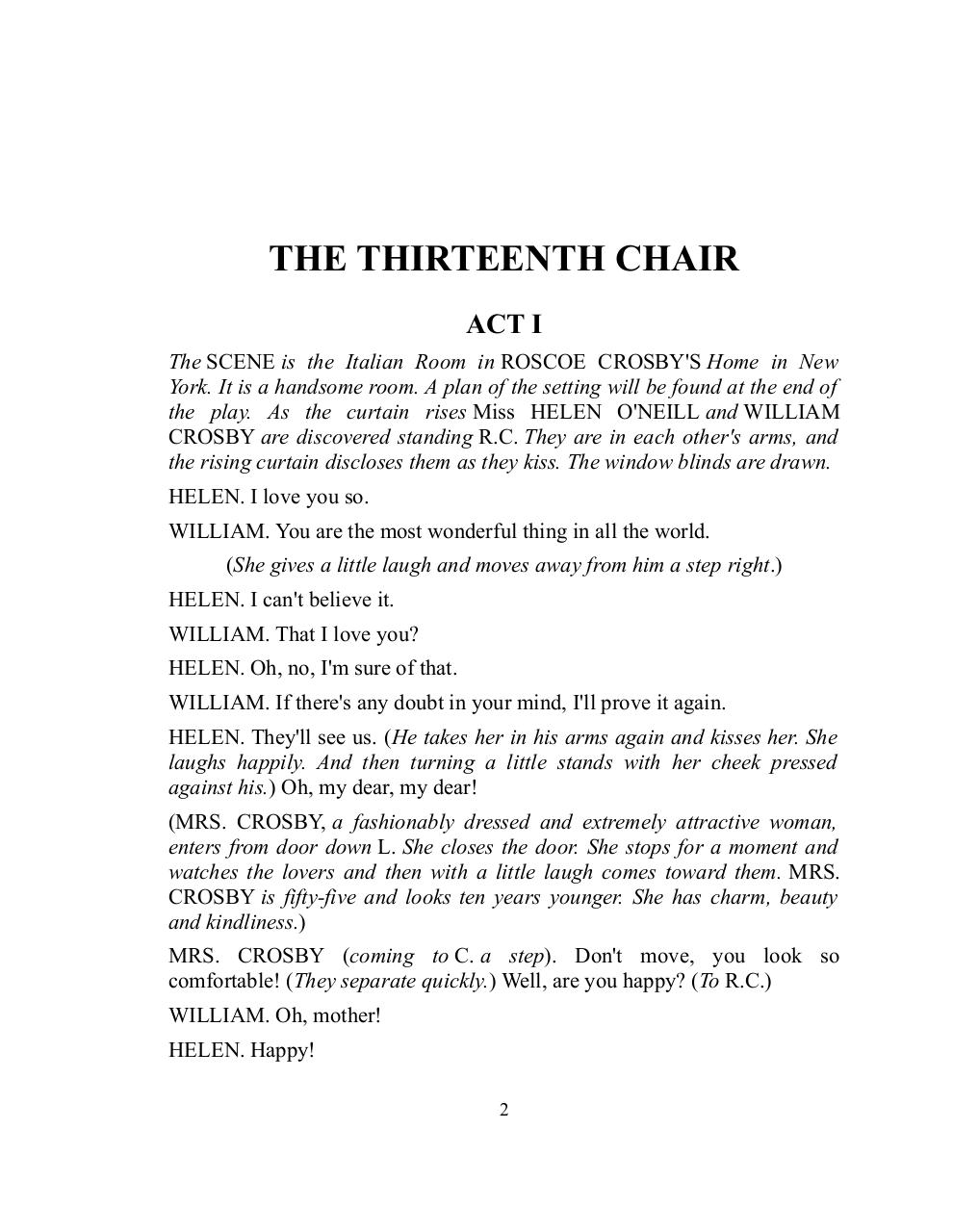The Thirteenth Chair (1917).pdf - page 2/84