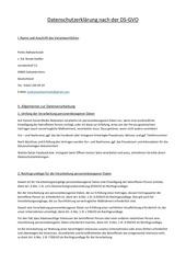 PDF Document datenschutzerklarung nach der ds gvo