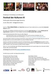 anmeldeformular festival der kulturen 19
