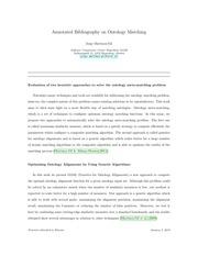 PDF Document ontology matching