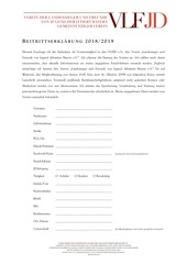 PDF Document beitrittserklarung 2019