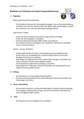 richtlinien zur teilnahme teil 1